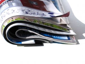 Recycle magazines into books
