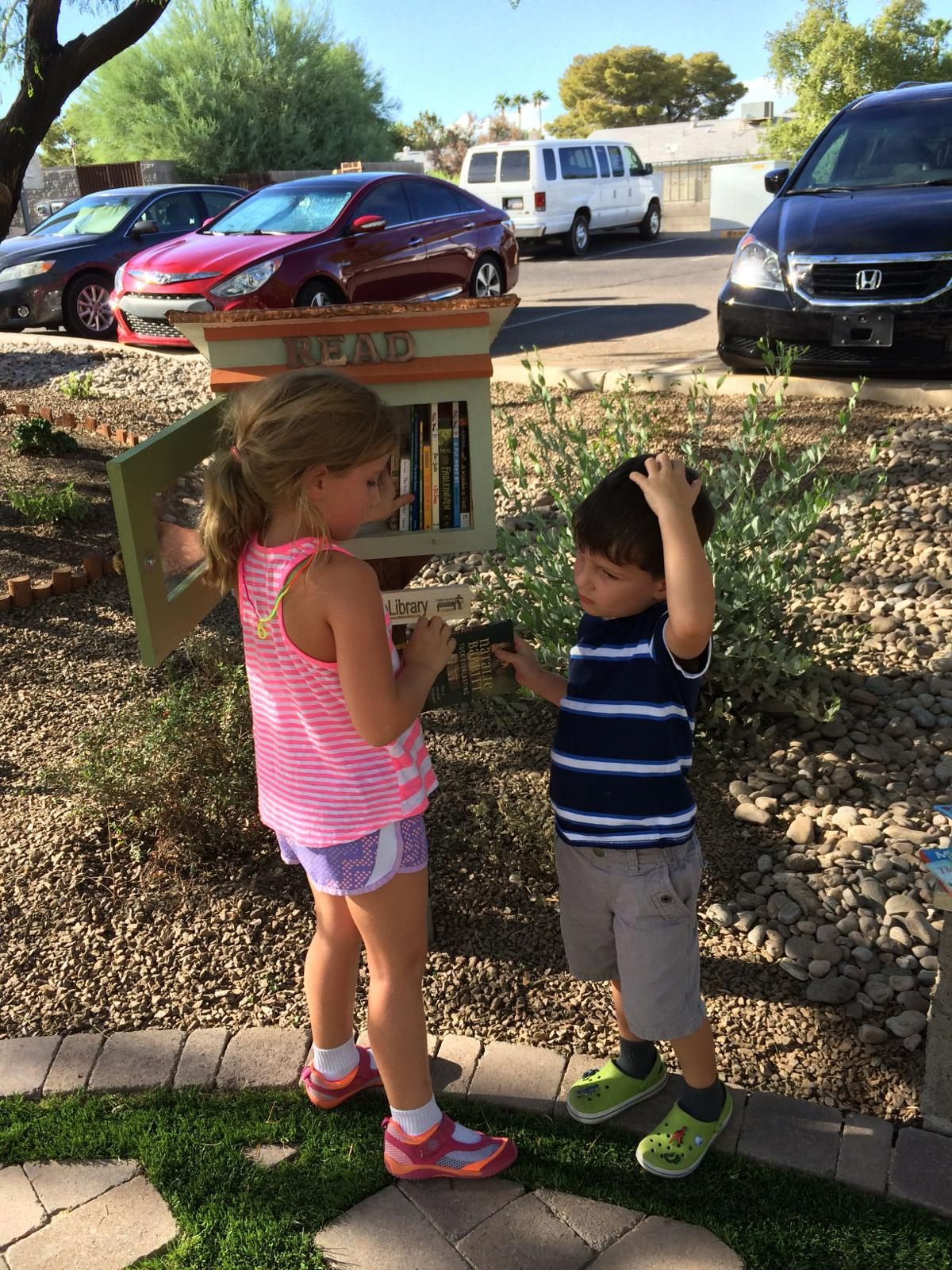 Building a community: Little Free Libraries popping up across ...