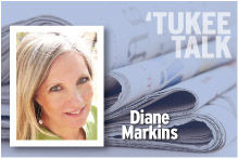 Tukee Talk Diane Markins