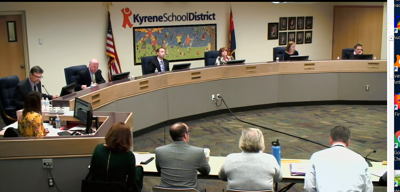 Board discusses proposals