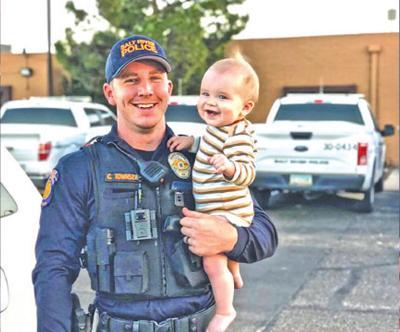 Salt River Police Officer Clayton Townsend