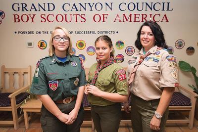 Members of Boys Scouts of America Troop 3501