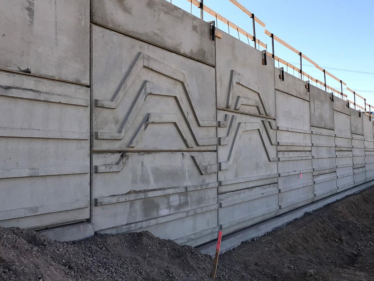The walls of the first South Mountain Freeway bridge in Laveen will carry a distinct decorative exterior to reflect that region's history.
