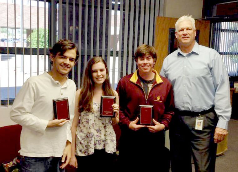 Mountain Pointe October students of the month