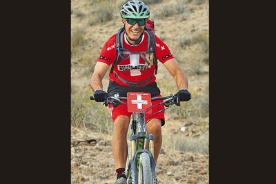 Dan Ryan of Ahwatukee is lading the safety patrol for this weekend's Cactus Cup bicycle race. (Special to AFN)