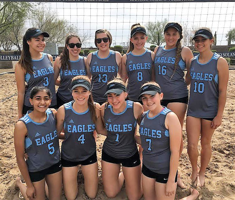 The Horizon Honors sand volleyball team is off to a 4-0 start in its first season of existence.