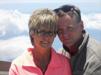 Dennis Lambert and wife Debbie
