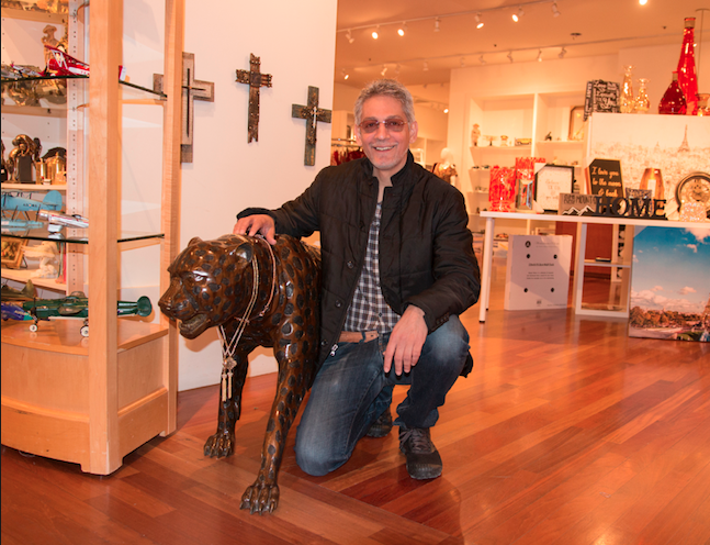 Pradip Malani's store in Chandler Fashion Center offers merchandise, food, decor and clothing from India. It is his second Malani World Mercato in the Valley.