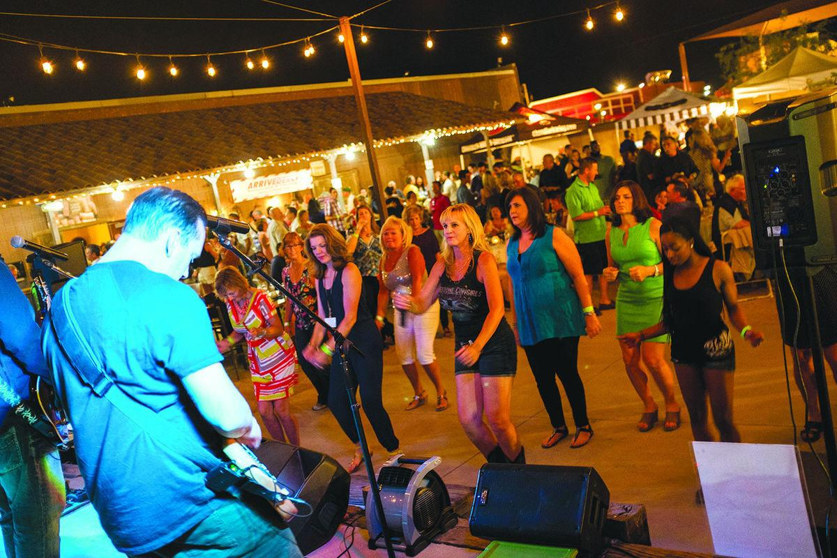 As at past Festival of Lights Wine and Beer Tasting fests, dancing will be a big activity on April 29th, at Rawhide