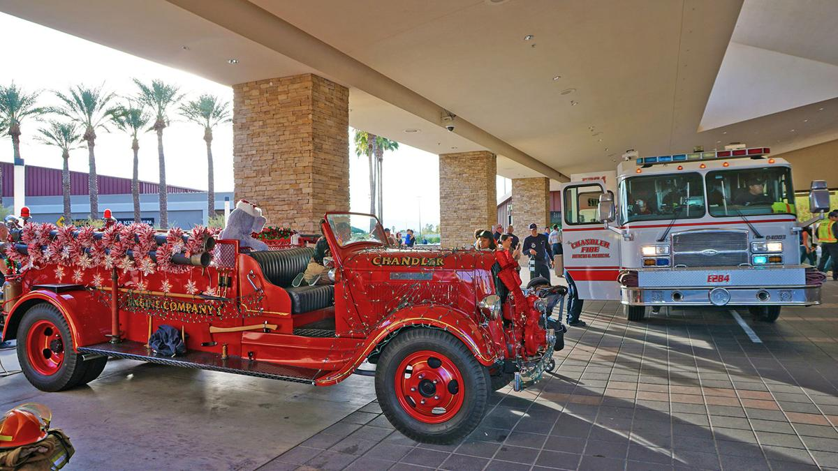 Chandler Fire Department Holiday Toy Ride
