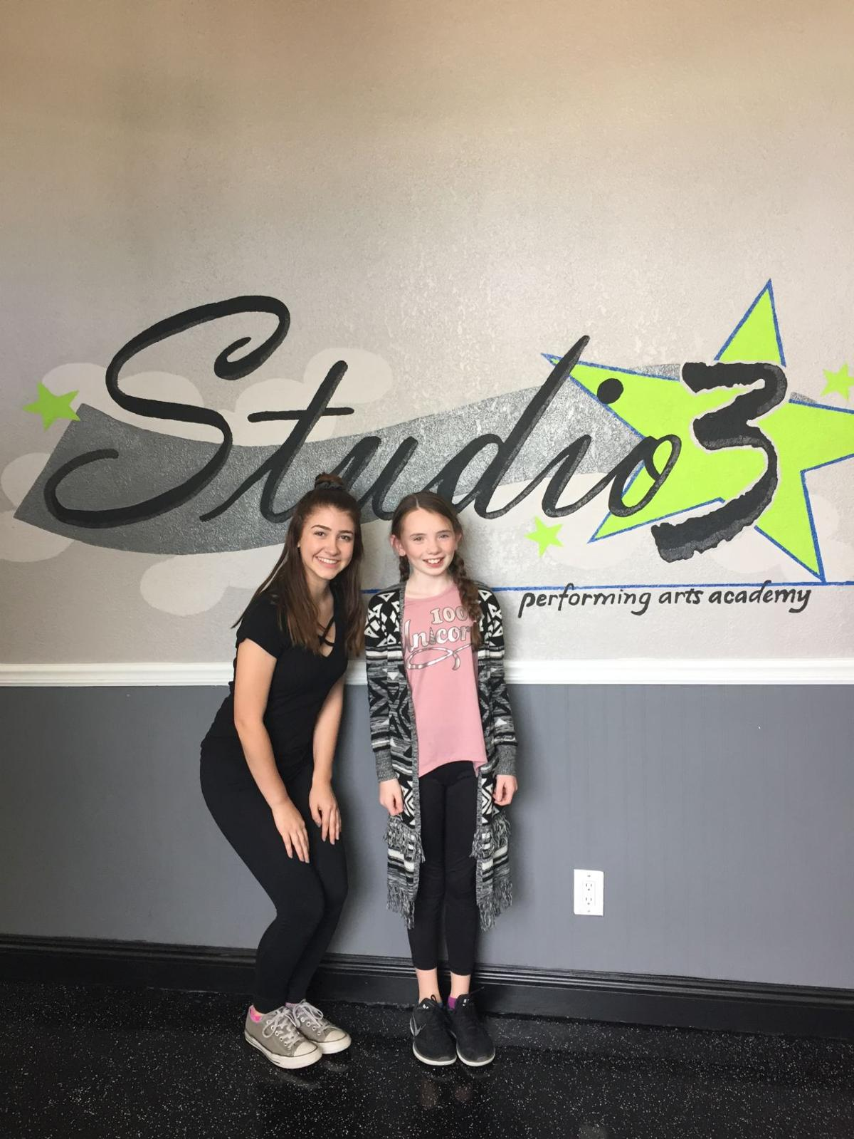 """Jessica Montecalvo, left, and Ciara Bogan of Ahwatukee have roles in the Limelight Theater production of """"The Sparrow."""""""