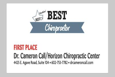 Dr. Cameron Call/Horizon Chiropractic Center 4425 E. Agave Road, Suite 104