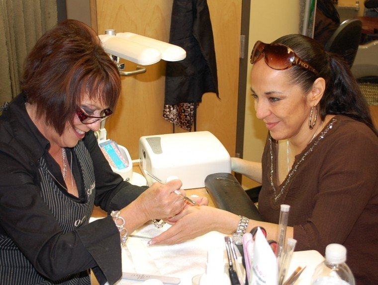 Sabrina Keene with Coralea Gosnell