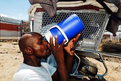 Heat especially brutal for homeless with brain injuries