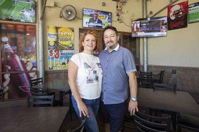 Cristina and Tedi Georgescu Bleachers Sports Grill