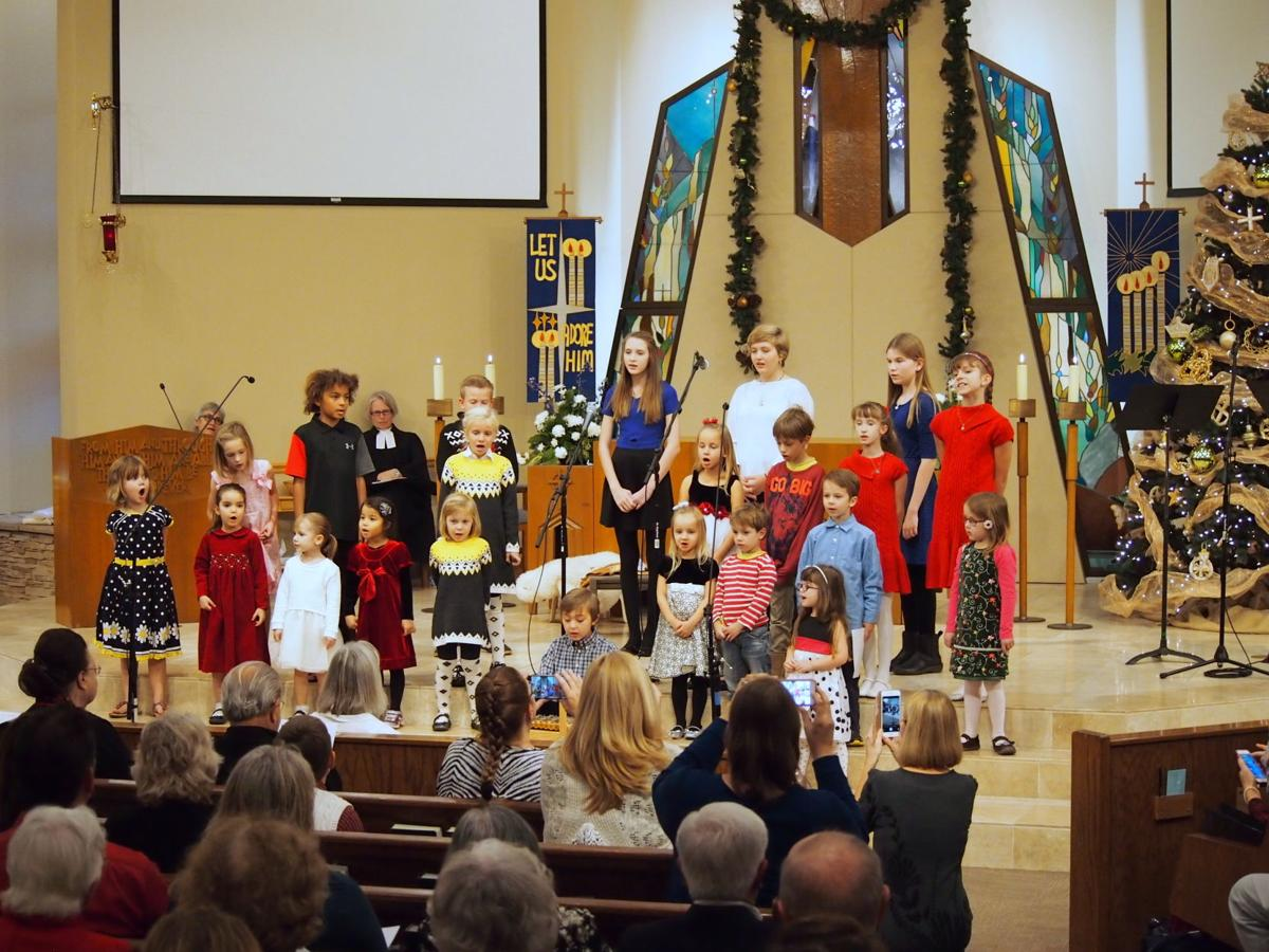 The German Christmas service is held annually at Mountain View Lutheran Church