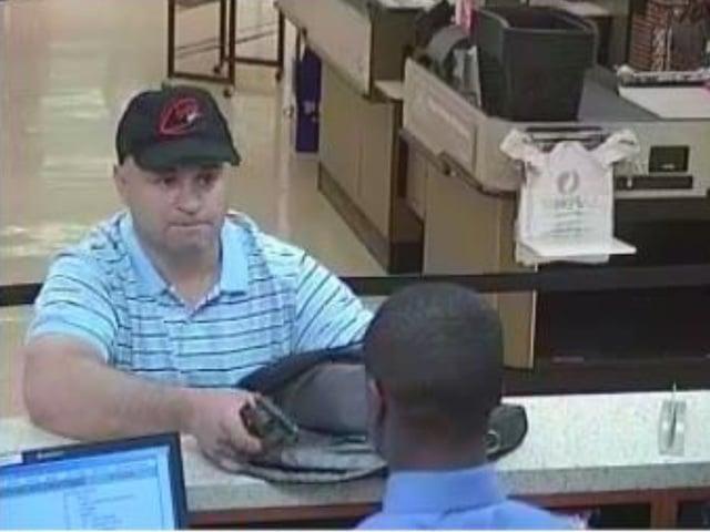 Wells Fargo robbery suspect