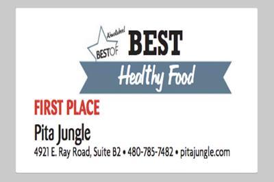 Pita Jungle 4921 E. Ray Road, Suite B2
