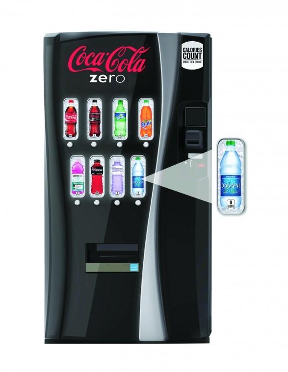 Vending machine calorie count