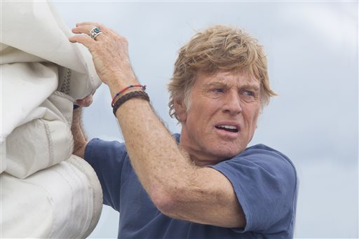 Robert Redford in All is Lost movie