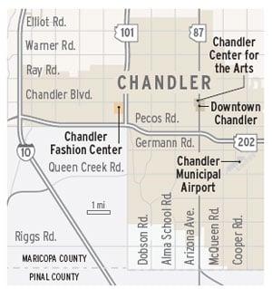 Chandler map