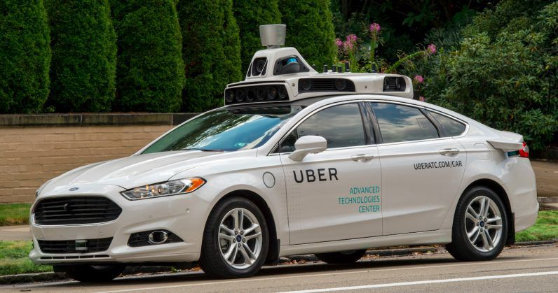a self-driving Uber