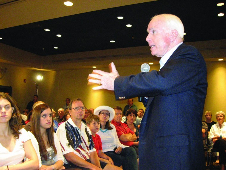 Sen. John McCain in Ahwatukee