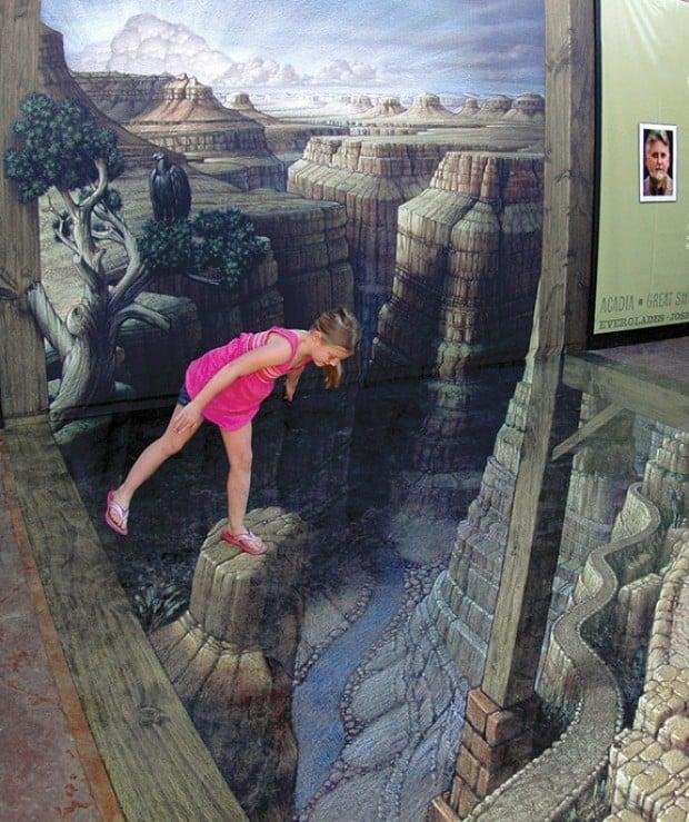 Grand Canyon 3D Art