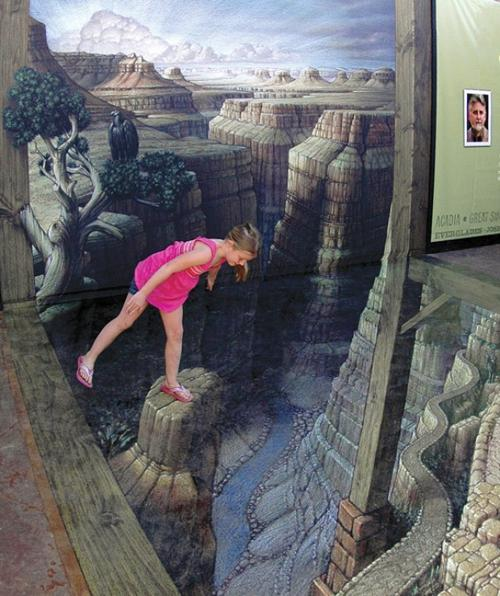 Grand Canyon 3D Art