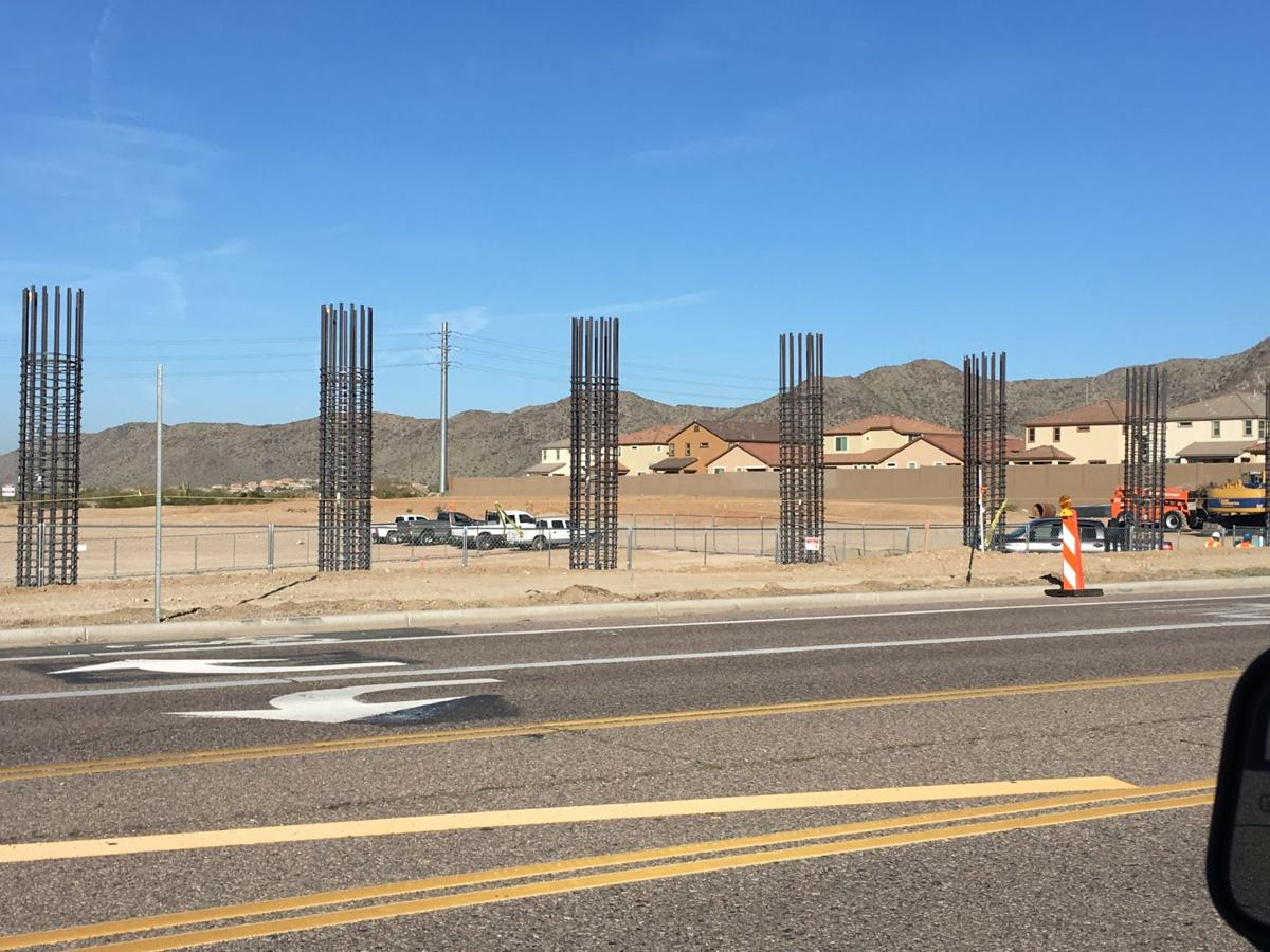 Current construction for the freeway