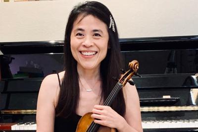 Ahwatukee violinist and musician Sharon Chen