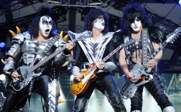 Kiss in concert