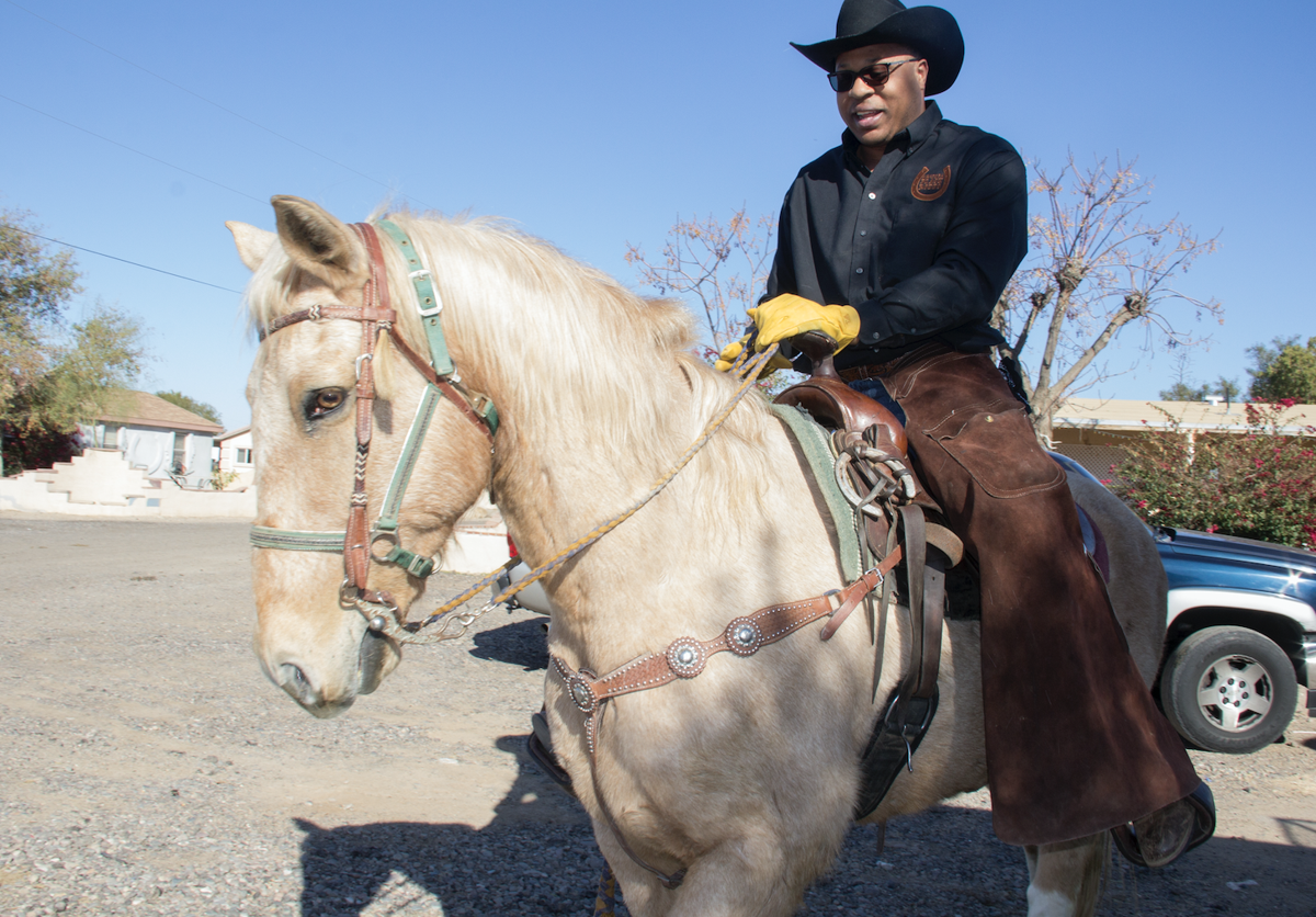 Cloves Campbell owns the Arizona Black Rodeo and is COO of the Arizona Informant newspaper. He says he hopes to build a rodeo circuit by partnering with other black newspapers.