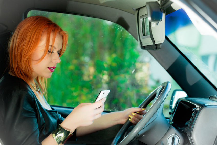 text and driving