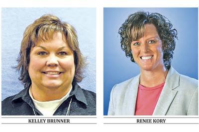 Kelley Brunner and Renee Kory