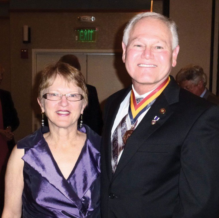 Barbara Hatch with Rick Romley
