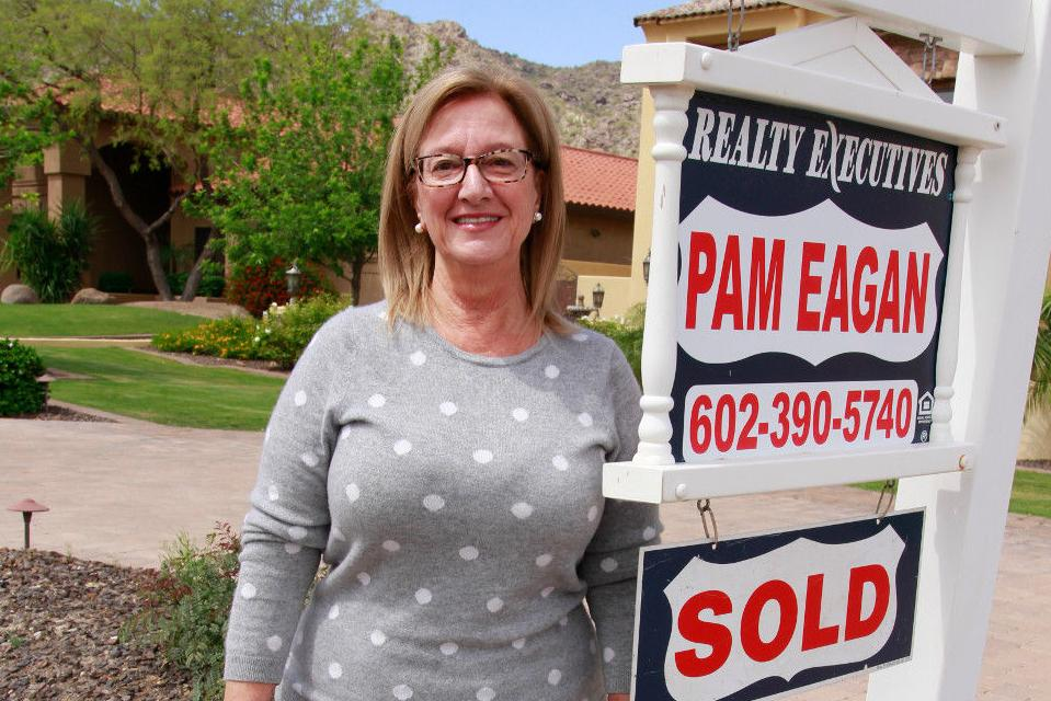 Realtor Pam Eagan has been in the real estate business for 33 years and an Ahwatukee resident for 36.