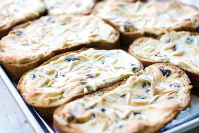 Twice-baked challah