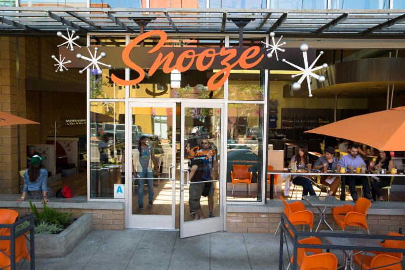 Snooze an A.M. Eatery will open in October in Ahwatukee and is looking to hire people Sept. 11-20 to staff a variety of positions.