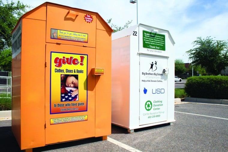 Donation bins