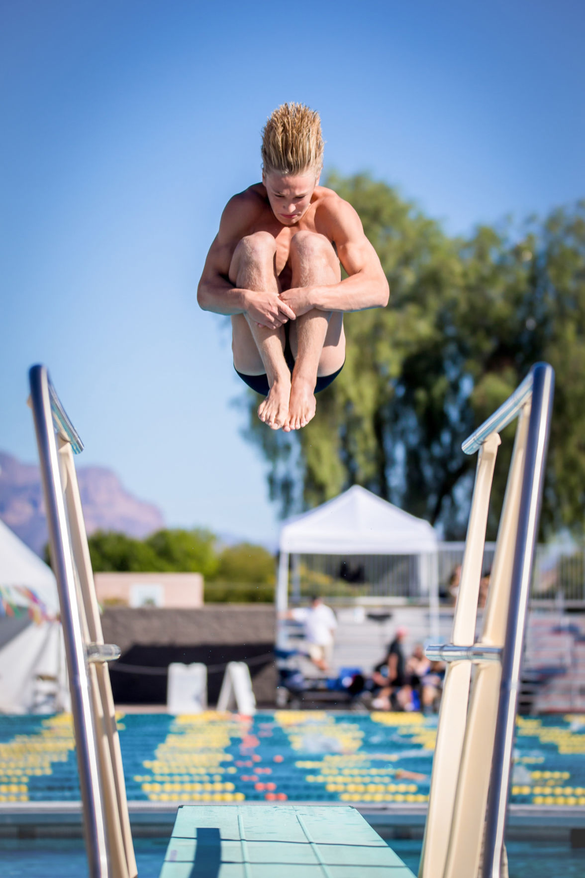 The love for diving often starts at a young age, when jumping off the board gets the heart rate going before hitting the water, enthusiasts say.