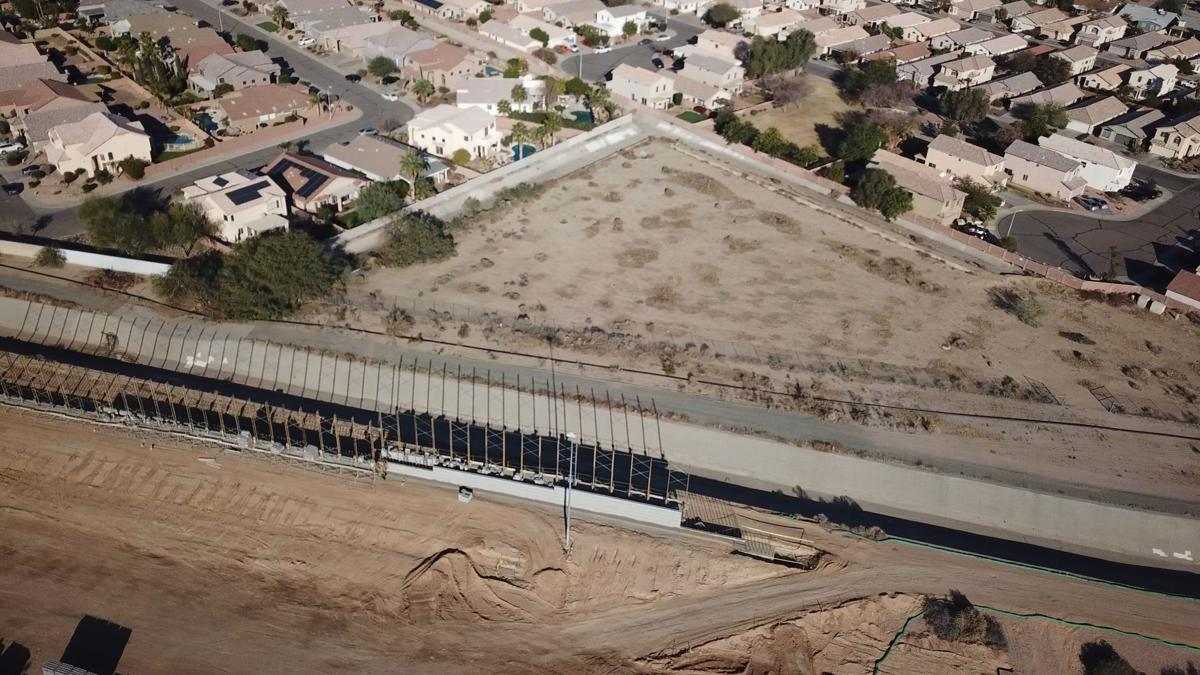 The changing landscape along Pecos Road, including the area around 48th Street, is being documented by Ahwatukee resident Tom Sanfilippo via stunning overhead shots taken by a camera-mounted drone.