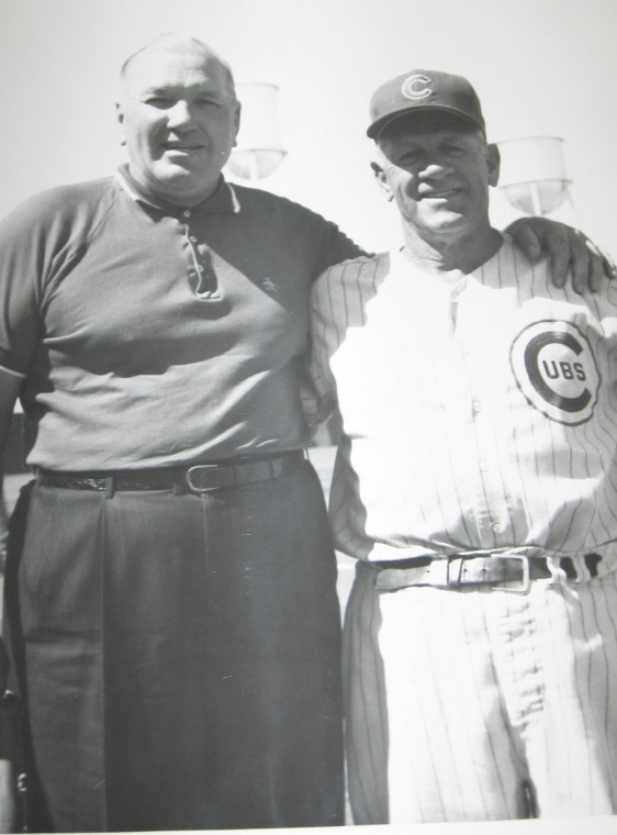 """Dizzy Dean"" and Charlie Grimm"