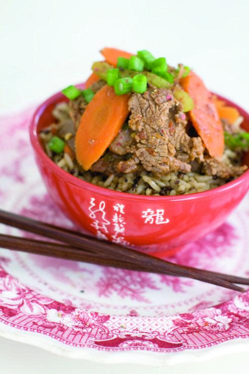 Sichuan beef