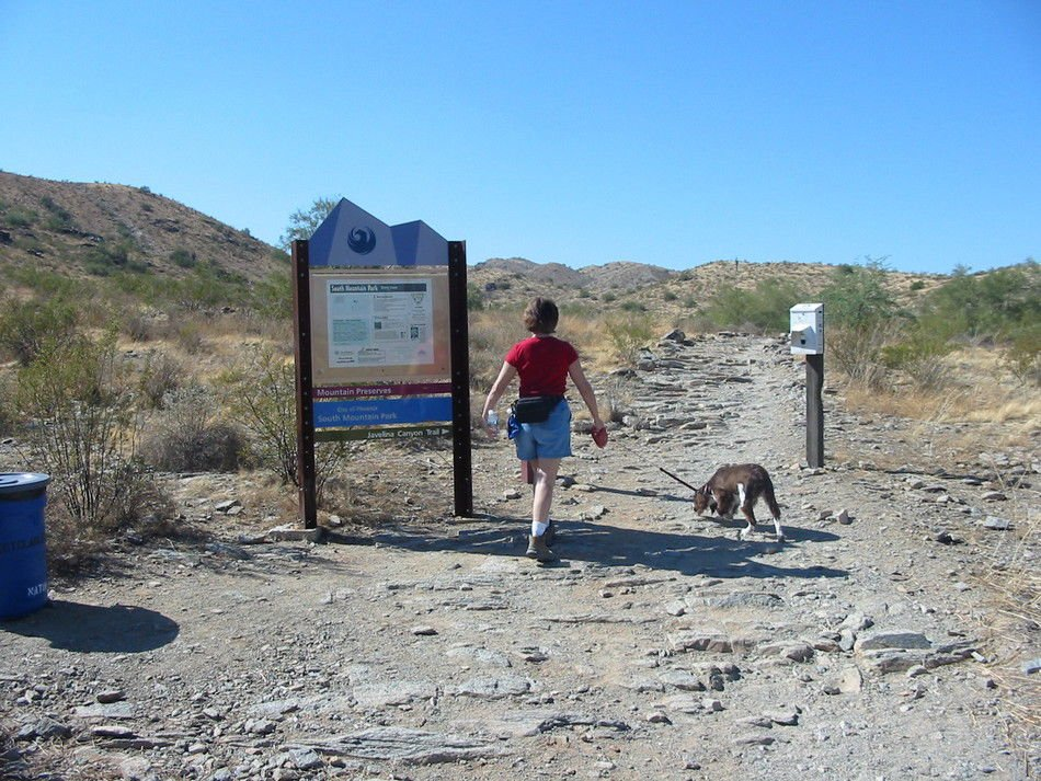 """Improved signage and the elimination of dangerous and environmentally damaging """"spider trails"""" are two goals of extensive work planned around Beverly Canyon at South Mountain."""