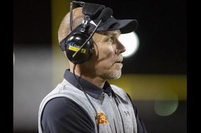 Mountain Pointe High varsity football head coach Rich Wellbrock