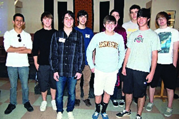 East Valley Boys Service Club seniors