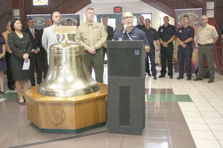 Phoenix Fire Department's veterans awareness training