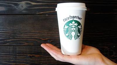 Starbucks racetogether