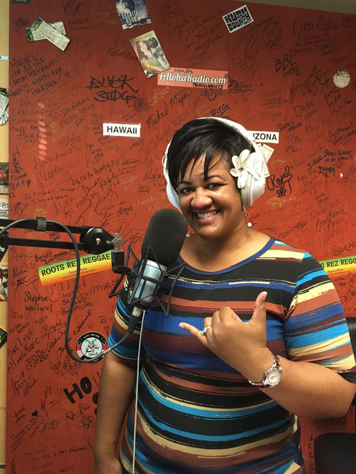 Ahwatukee real estate professional Devida Pi'ilani Lewis is developing a following with her Hawaiian music programming